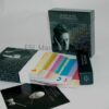 Deluxe box set, top loading lid, for cds dvds