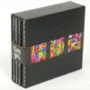 Deluxe Bot Set packaging Leather wrapped box 5inch cd height multiset collection