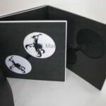 Hardbound Vinyl Book for cd 12inch height packaging